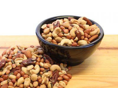 Ongezouten noten mix